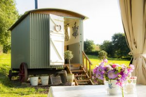 Just Us Retreats shepherds hut