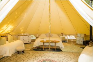 Just Us Retreats luxury tent