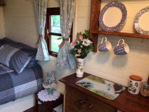 Shepherds Huts kitchenette
