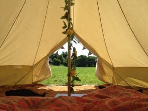 West Town Farm Glamping accommodation in Devon