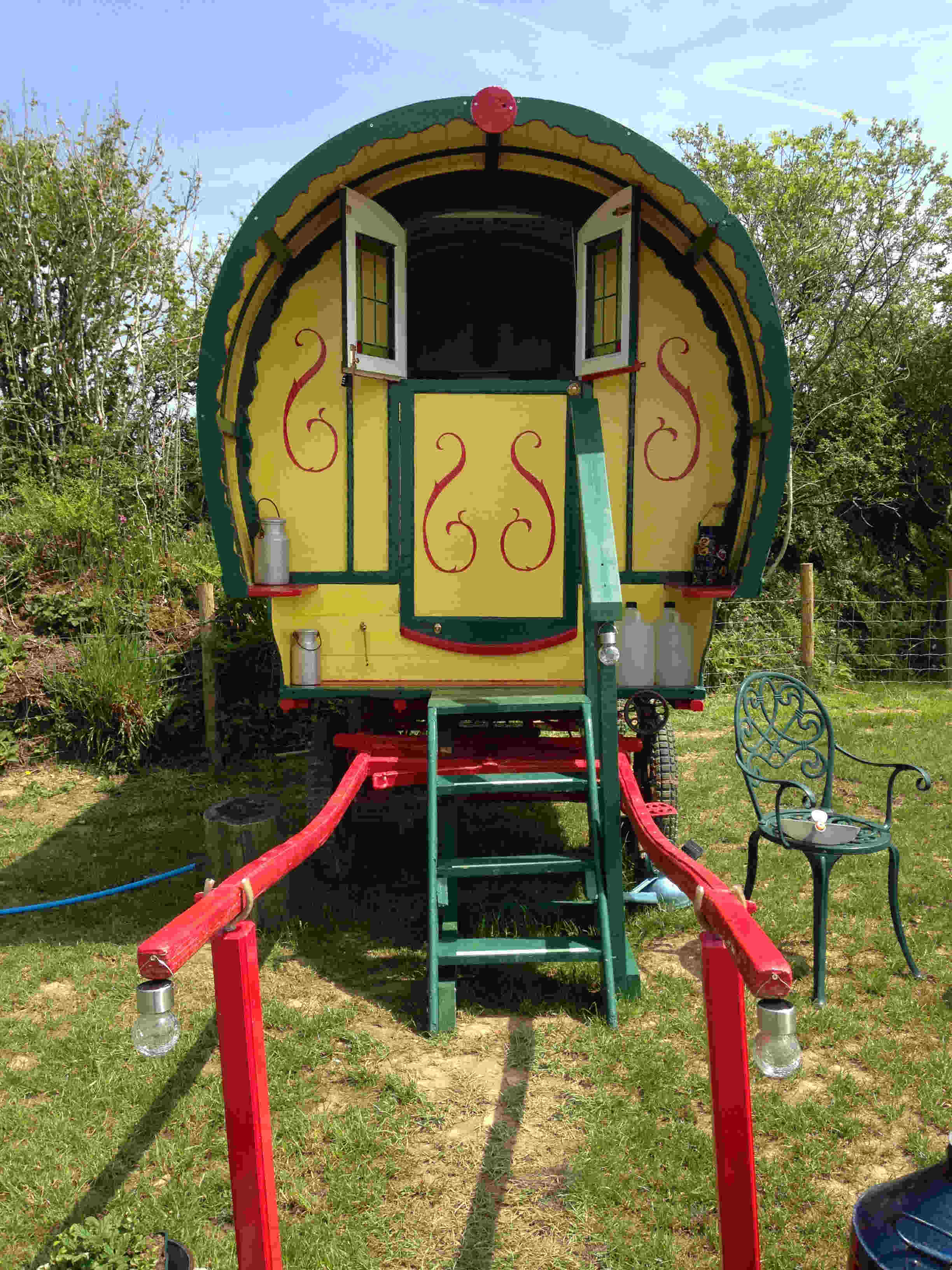 Gypsy Caravan at Welcombe X