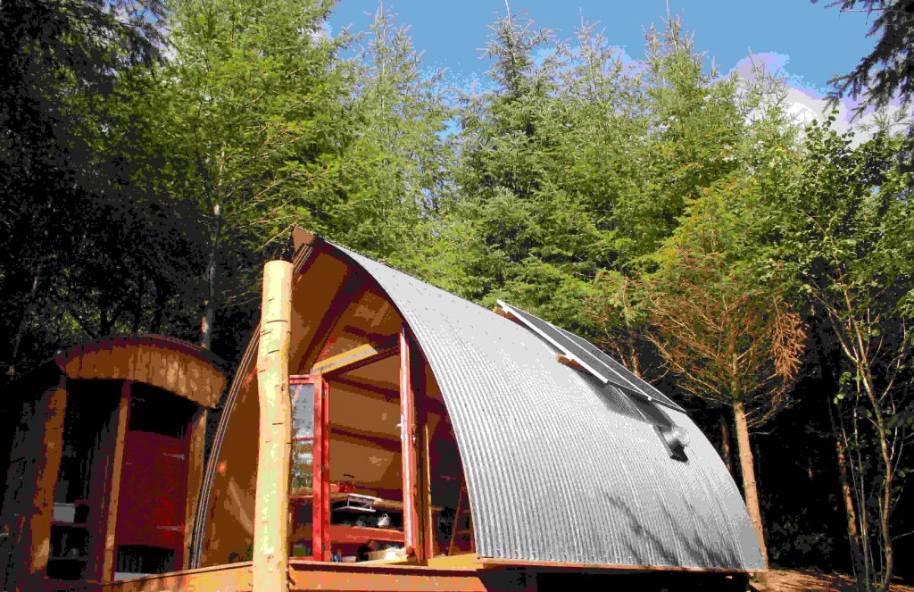 Devon Dens woodland glamping accommodation