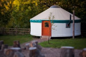 beautiful contemporary yurt
