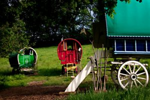 Fisherton Farm by Andrew Ogilvy Photography. Gypsy caravan glamping in North Devon
