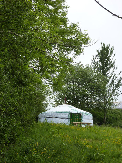 Yurt at Summerhill Farm