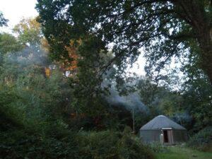 Kingfisher yurt 3
